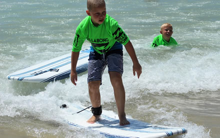Surfing School for Kids